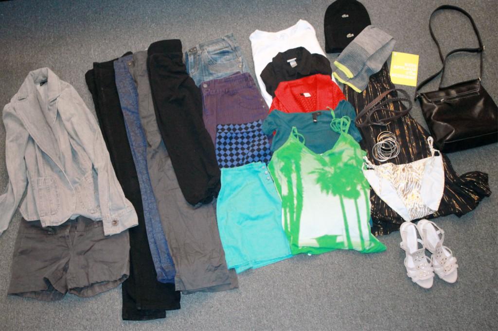 Alle meine goodies von der Kleidertauschparty