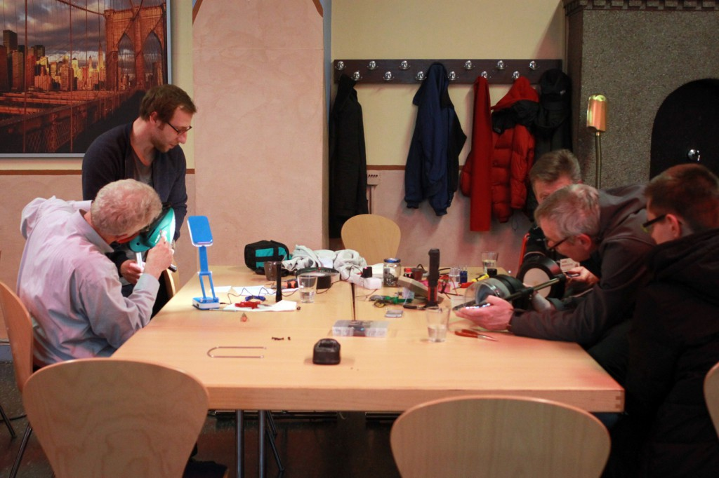 Repair-Café in der Villa Rü in Essen