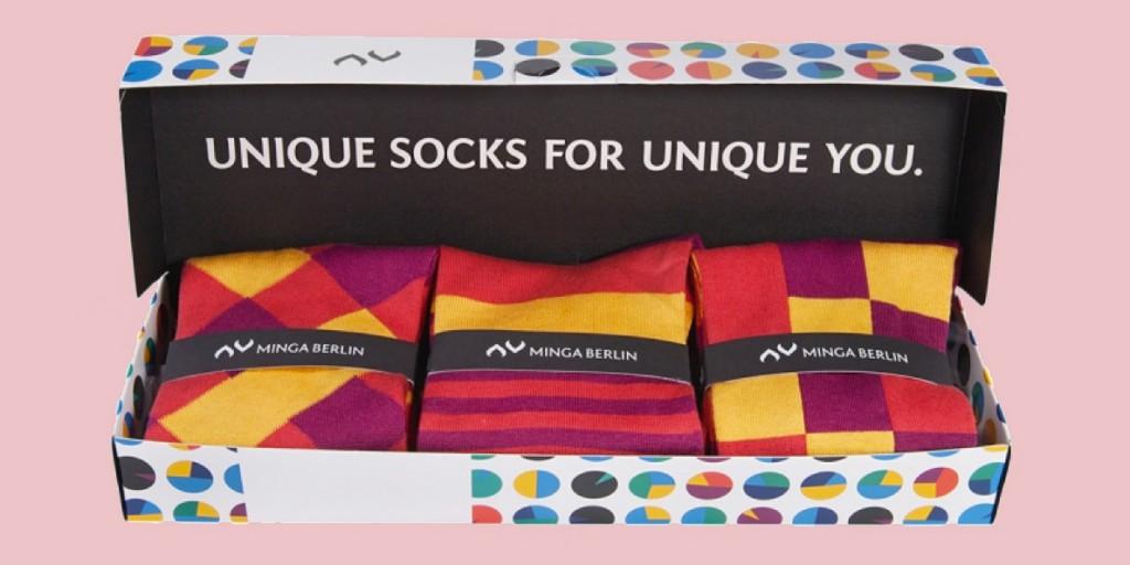 Geschenkeset mit Minga Berlin öko und fairen Socken
